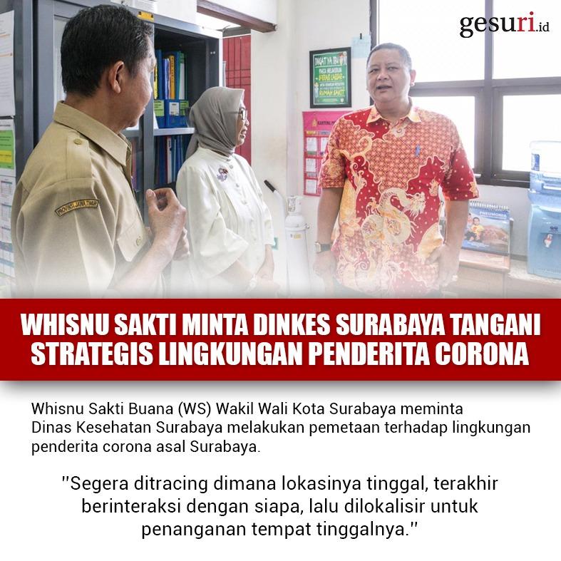 Whisnu Minta Dinkes Tangani Lingkungan Penderita Corona