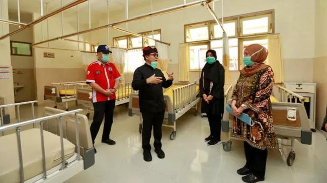 Bupati Anas Pastikan Penambahan Bed Isolasi Hingga 300