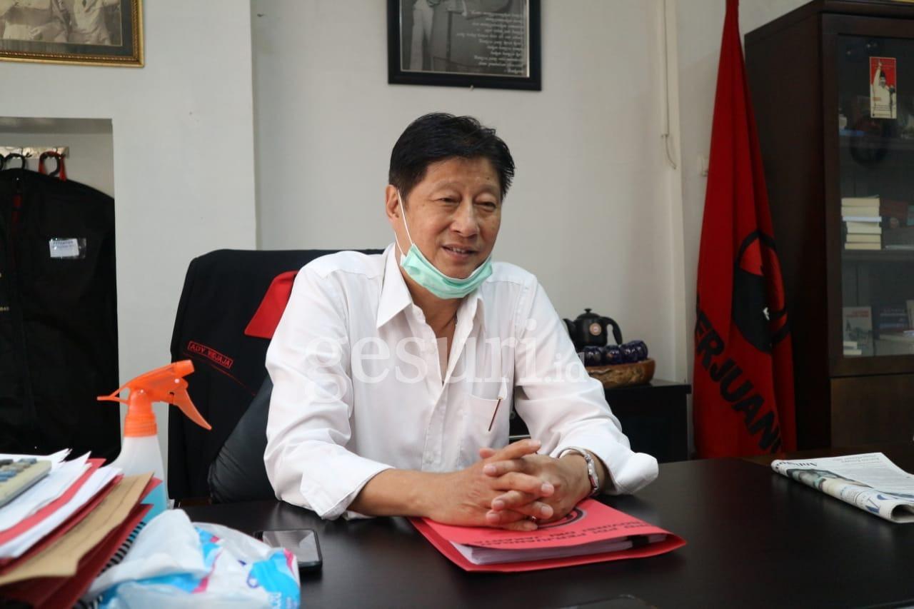 Basmi Corona, PDI Perjuangan DKI Siap Berkorban untuk Rakyat