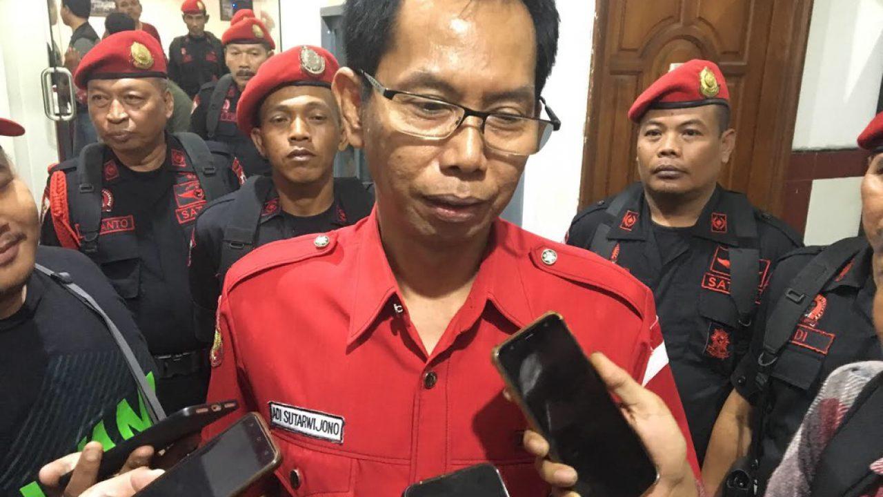 PDI Perjuangan Surabaya Rapatkan Barisan Lawan Corona