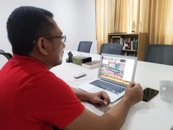 Ikut Rapat Virtual DPR, Ansy Paparkan Manfaat Digitalisasi