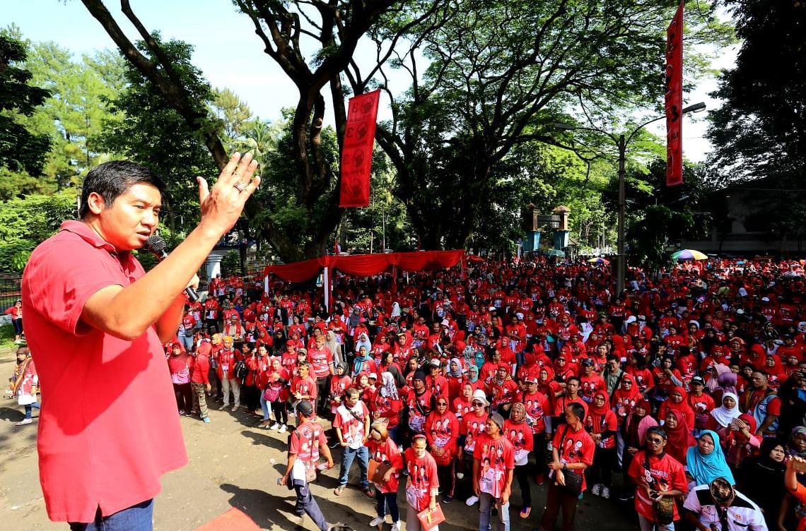 Ara Terjunkan Relawan Gelar Aksi Sosial di Majalengka