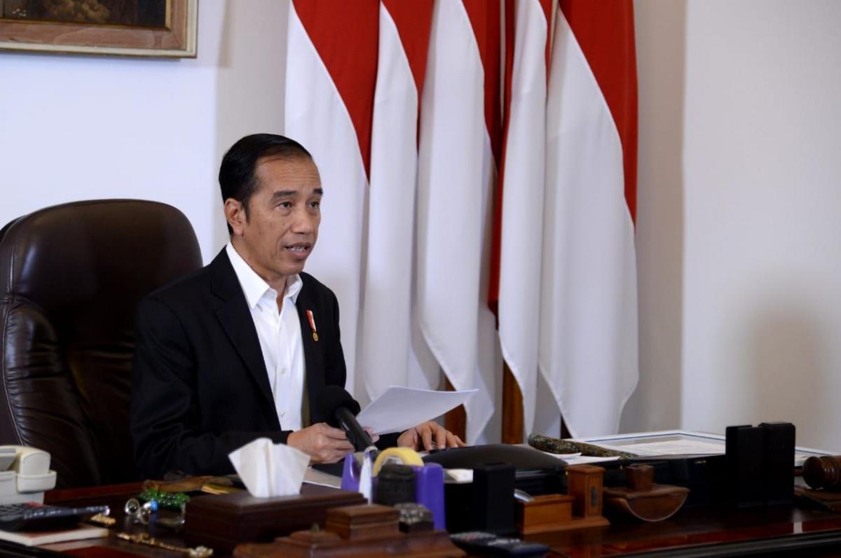 Presiden Ajak Masyarakat Gotong Royong Hadapi Corona