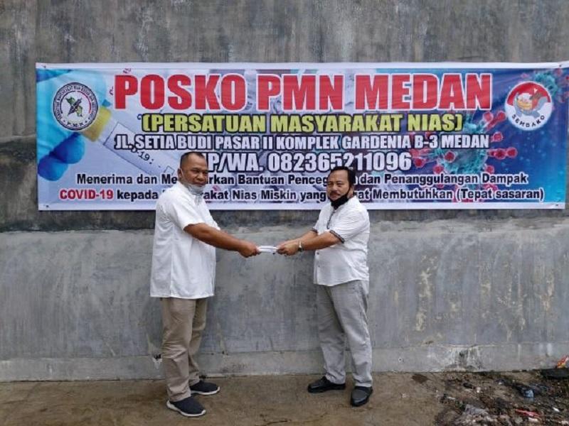 Politikus Banteng Beri Bantuan Warga Nias Terdampak Covid-19