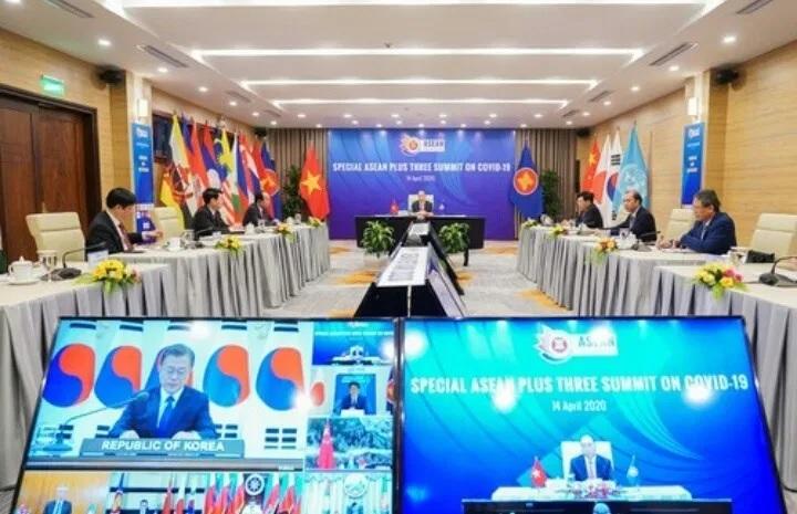 Presiden Jokowi Dorong Dua Hal Ini di ASEAN Plus Three