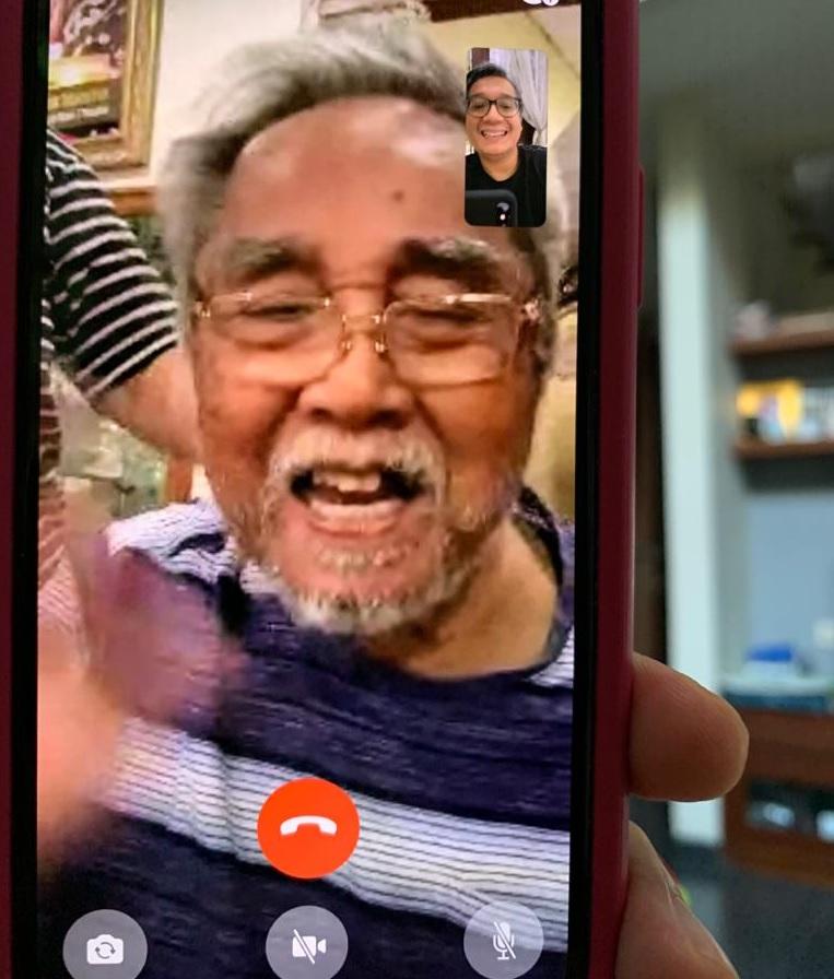 Politikus Senior PDI Perjuangan Sabam Sirait Sehat