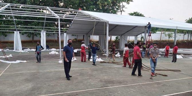 Basmi Corona di Semarang, Megawati Sumbangkan Tenda Raksasa