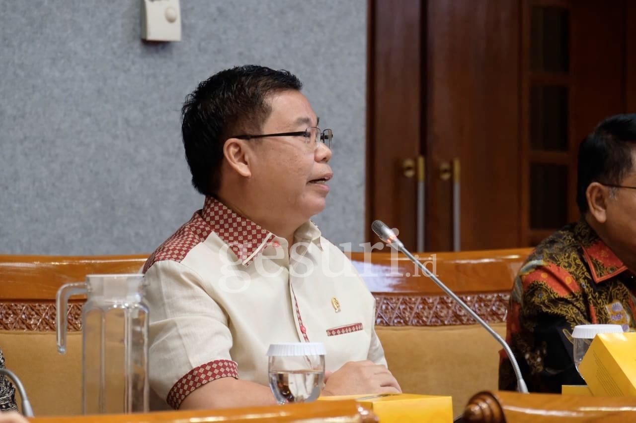 Sofyan Tan Prihatin Pemotongan Anggaran di Perpusnas