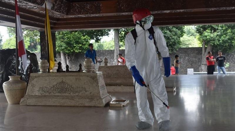Dampak Corona, Wisata Makam Bung Karno Ditutup Sementara