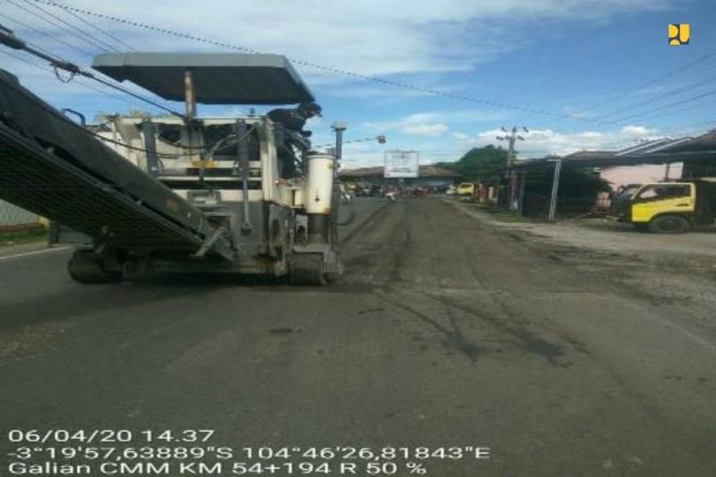Distribusi Logistik, Preservasi 3 Ruas Lintas Timur Sumsel