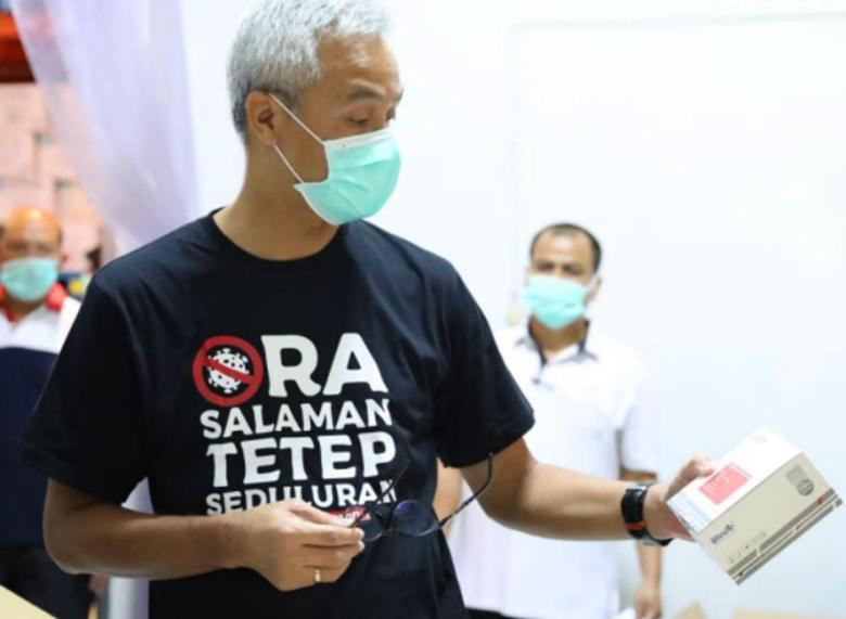 HUT ke-473 Kota Semarang, Ini Harapan Khusus Ganjar