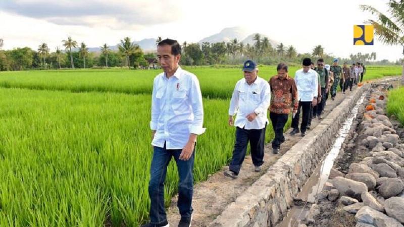 Menteri Basuki Percepat Program Padat Karya di 900 Kecamatan
