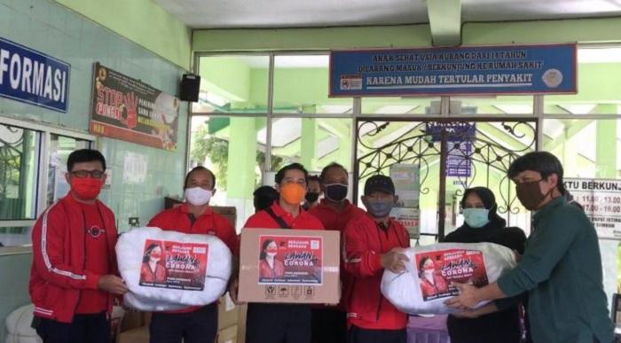 Puan Maharani Berikan Puluhan Ribu Bantuan di Boyolali