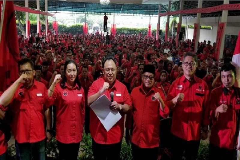 PDI Perjuangan Jabar Umumkan Calon Kepala Daerah di 8 Daerah