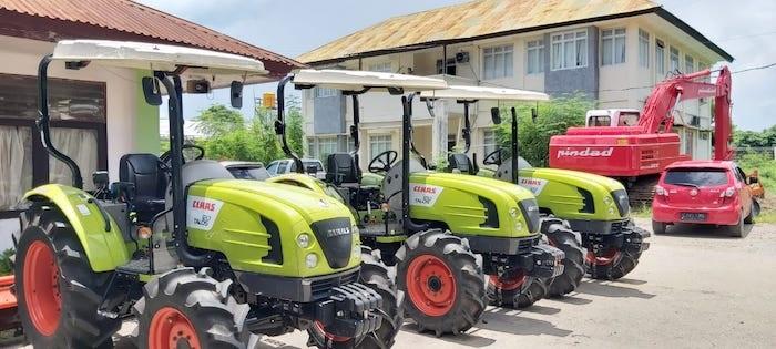 Excavator Kunci Kemajuan Pertanian Lahan Kering NTT