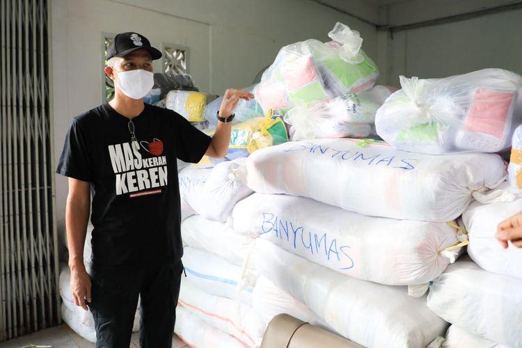 Dahsyat, Ganjar Kirim 7.000 Paket Sembako ke DKI Jakarta