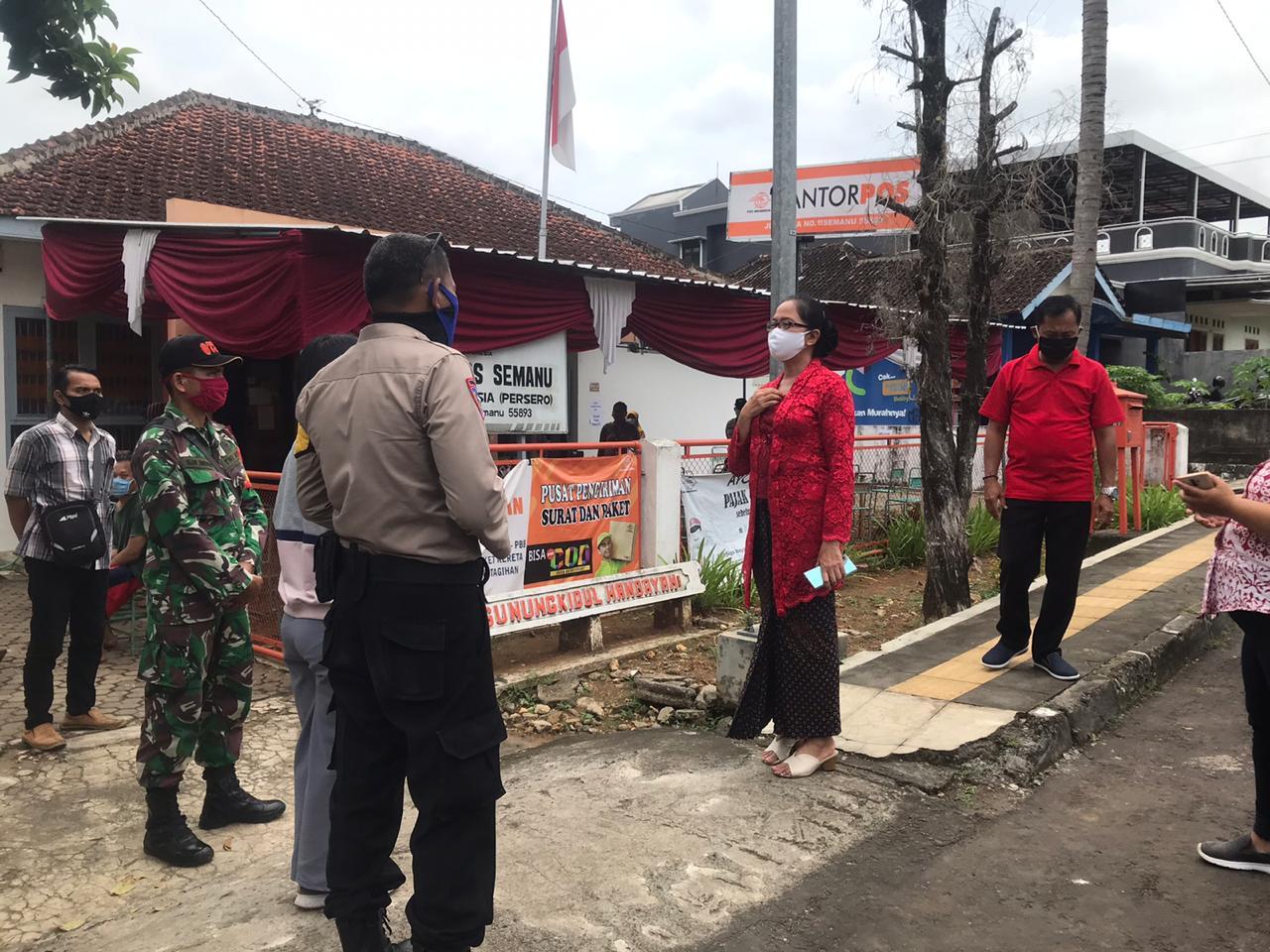 My Esti Pantau Penyaluran Bantuan Sosial di Gunungkidul