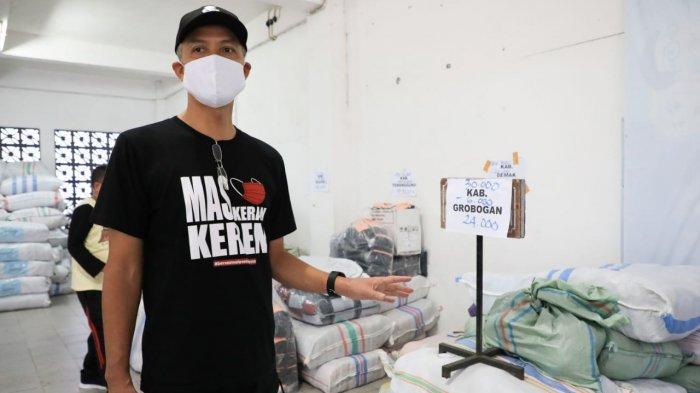 Berdayakan UMKM, Ganjar Borong 3 Juta Masker
