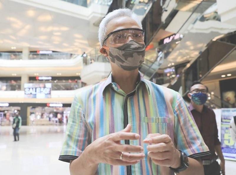 Skenario Ganjar Untuk Persiapan New Normal di Jawa Tengah