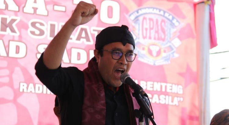 Banteng Jabar Serukan Rawat & Jaga Pancasila