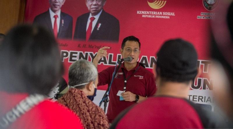 Keren, Juliari Telah Rampungkan Penyaluran Bansos PKH