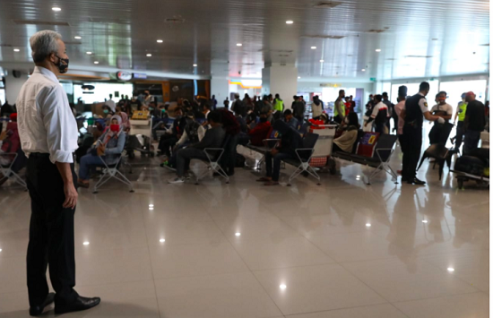 Tinjau Bandara Ahmad Yani, Ganjar Minta Hal Ini