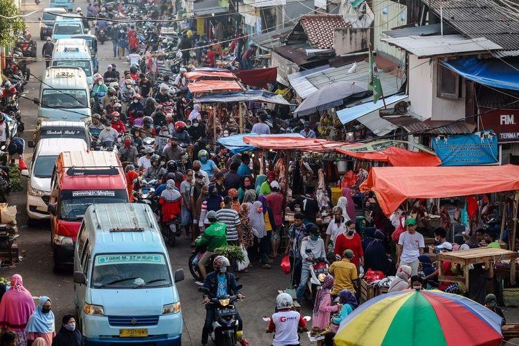 51 Pedagang Pasar DKI Positif Covid, Bukti Pengawasan Lemah