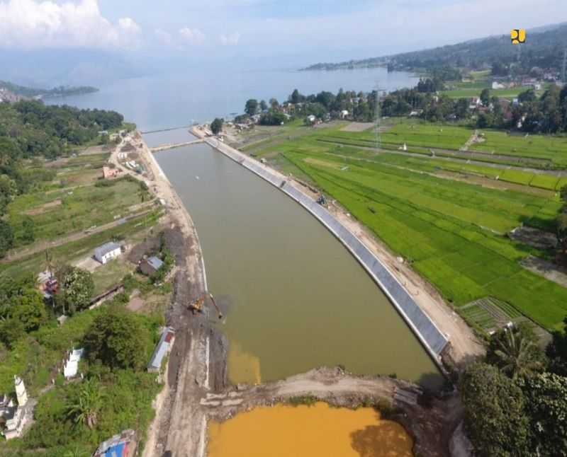 Wisata Samosir, PUPR Lebarkan Alur Tano Ponggol Danau Toba