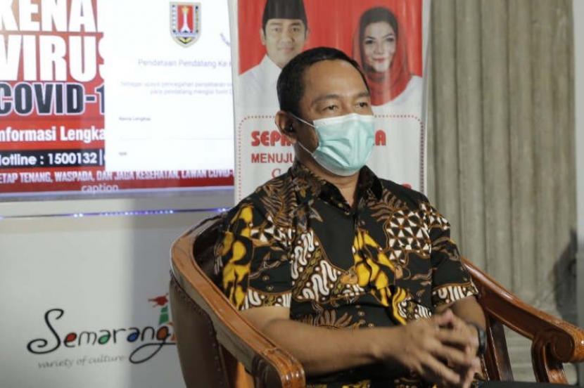 Hendi Pertanyakan Status Zona Merah di Kota Semarang