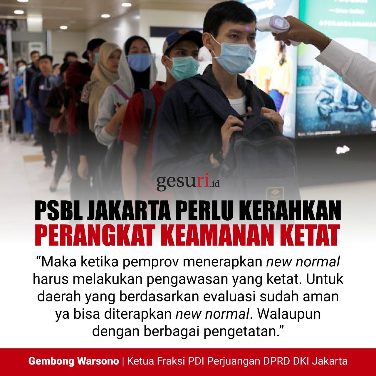 PSBL Jakarta Perlu Kerahkan Perangkat Keamanan Ketat