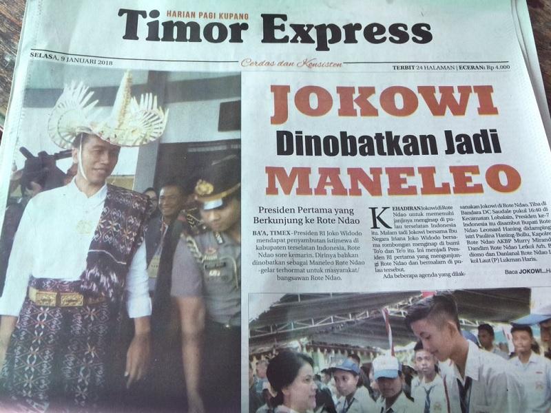 Ansy Lema Ucapkan Dirgahayu Koran Timor Express
