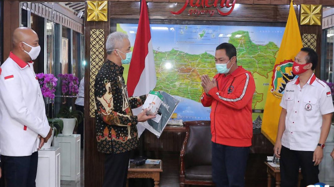 Keren, TMP Beri Bantuan 1.000 APD ke Provinsi Jateng