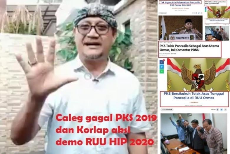 Deddy Bongkar Kemunafikan PKS Soal RUU HIP