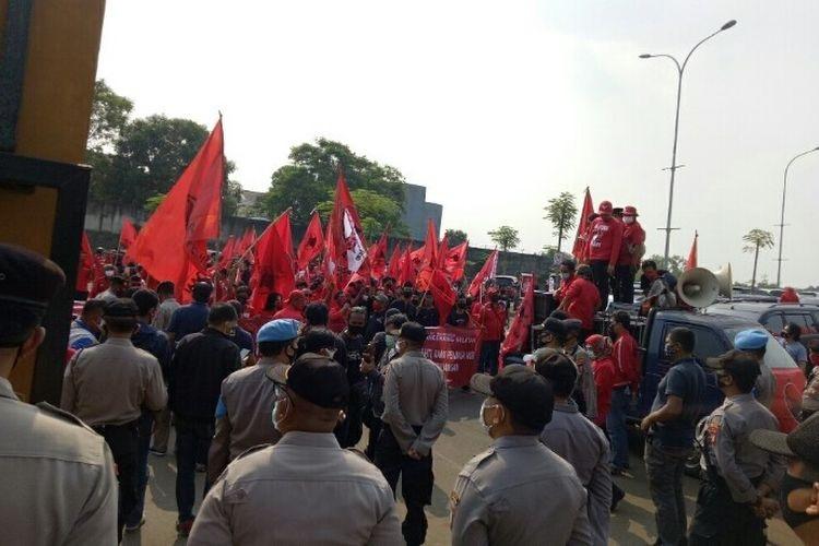 Bendera Dibakar Injak Harga Diri, Banteng Tangsel ke Polres