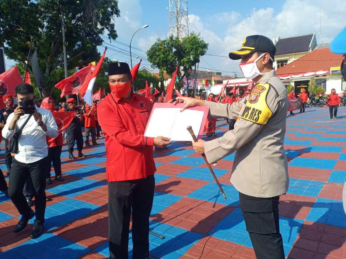 Banteng Majalengka Desak Polri Tangkap Pembakar Bendera