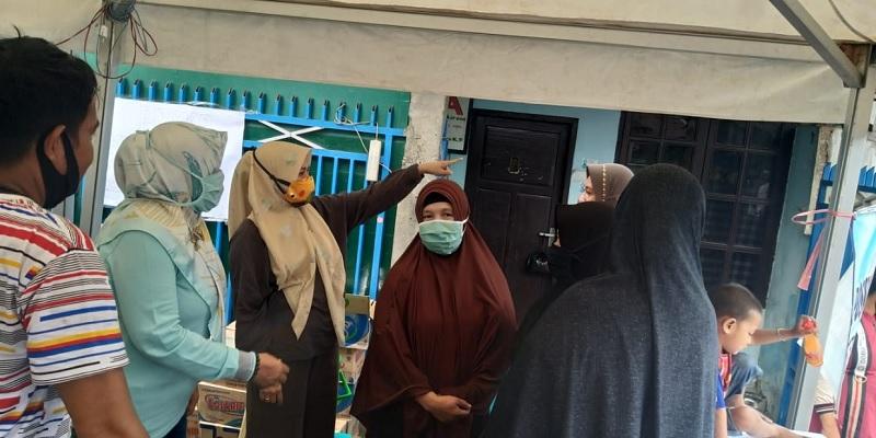 Banteng Makassar Bantu Korban Kebakaran di Kerung-Kerung