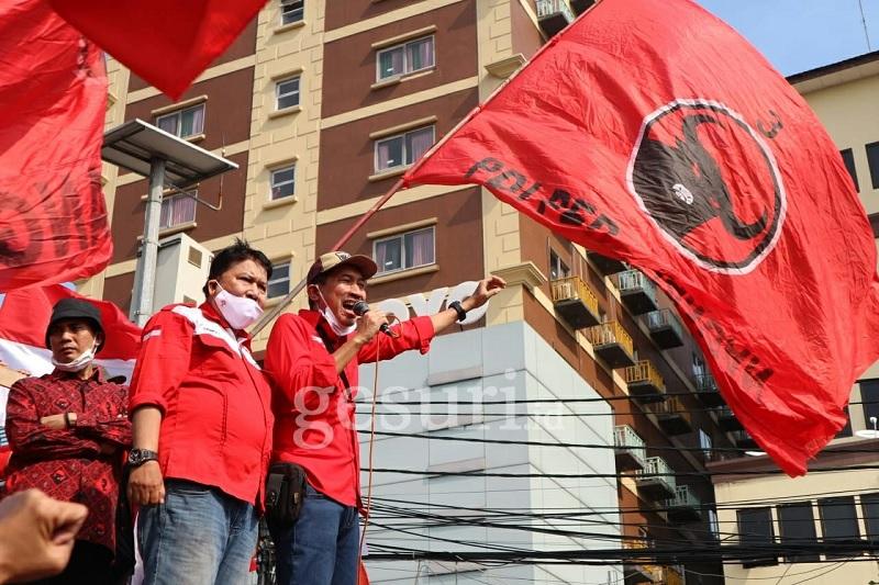 Penyelidikan Pembakaran Bendera PDI Perjuangan Dimulai