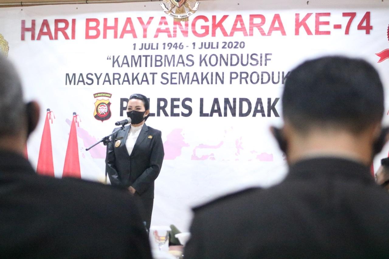 Hari Bhayangkara, Karolin Minta Polisi Makin Profesional