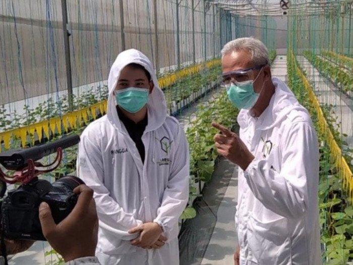 Ganjar Dukung Pengembangan Teknologi Pertanian