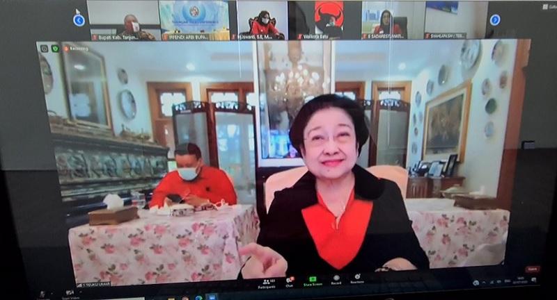 Cegah Krisis, Megawati Minta Daerah Tanam Pendamping Beras