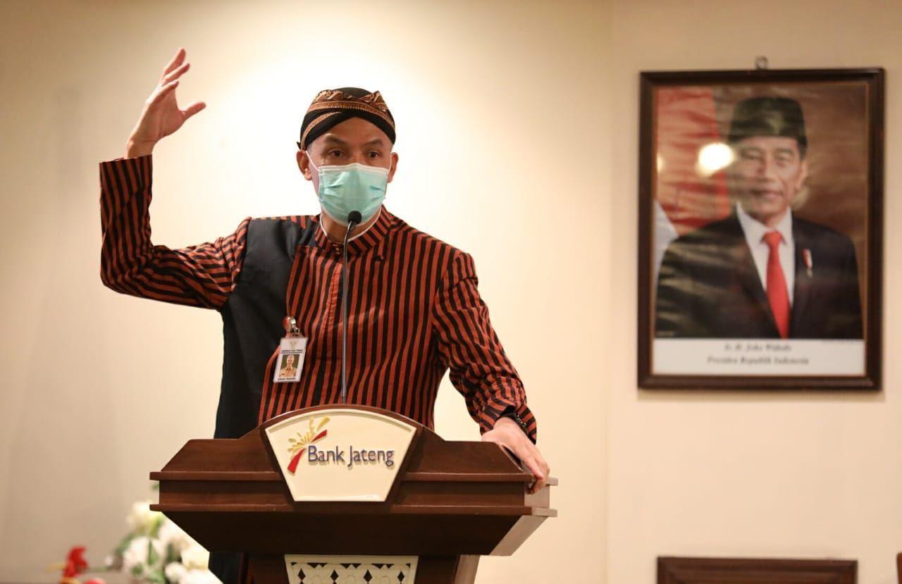 Dampak Pandemi, Ganjar Ajak Masyarakat Bergotong Royong
