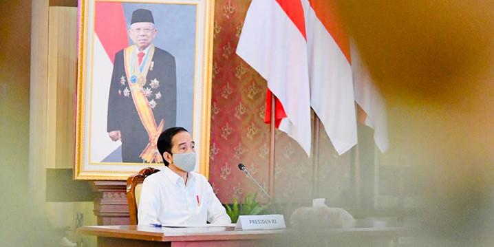 Presiden Jokowi Optimistis Indonesia Bisa Naik Statusnya