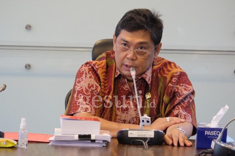 Nurdin Gantikan Rieke di Baleg Untuk Kawal Omnibus Law
