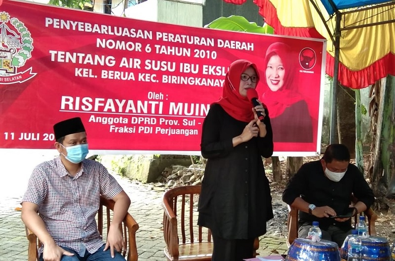 Sosialisasi ASI Eksklusif, Risfa Datangkan Dokter Fadli