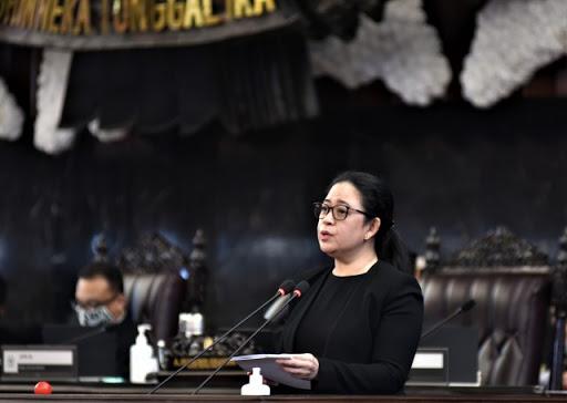 Puan Sampaikan Capaian DPR Selama Masa Persidangan IV
