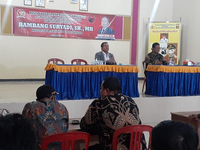Reses, Bambang: Blusukan Itu Penting Bagi Anggota DPR