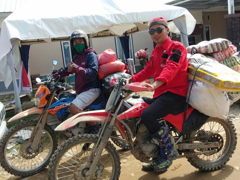 Bantu Korban Luwu, Kader Banteng Sasar Lokasi Tersulit