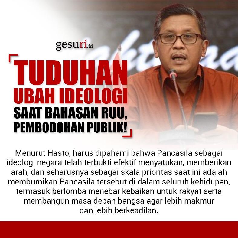 Tuduhan Ubah Ideologi Saat Bahasan RUU, Pembodohan Publik!