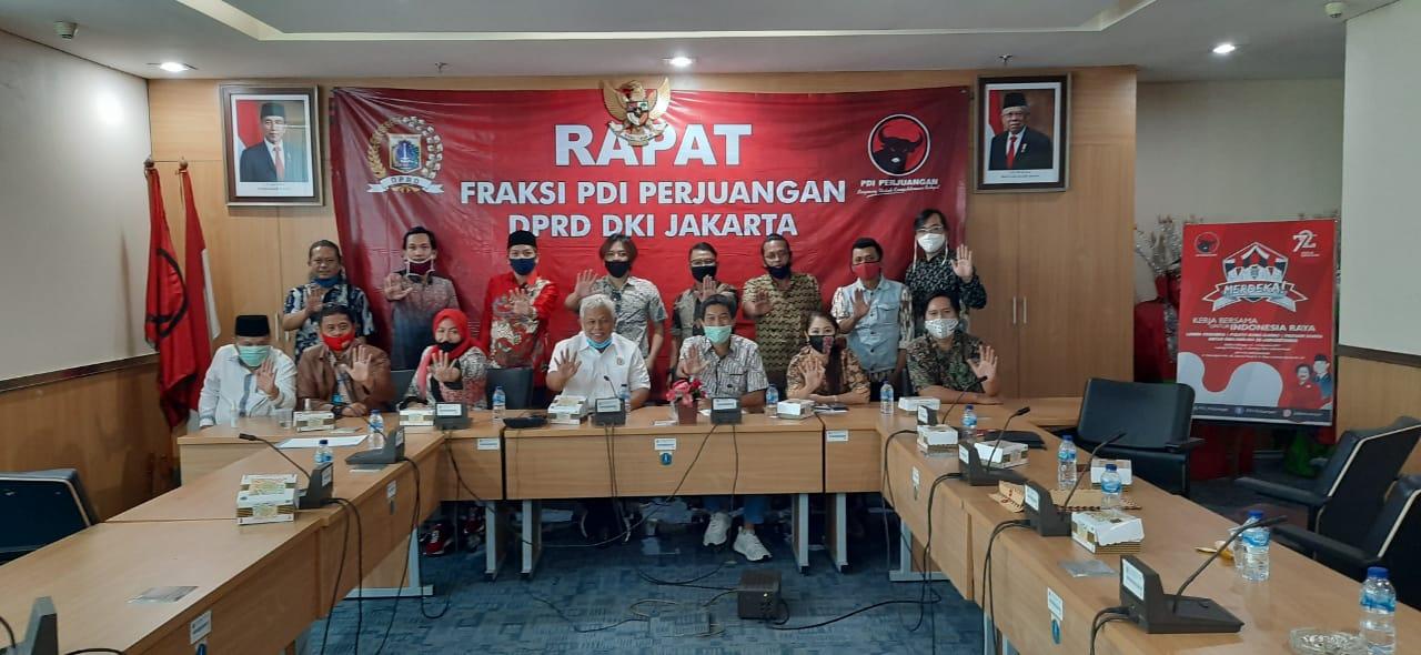 Fraksi PDI Perjuangan Siap Perjuangkan Nasib Musisi Jakarta