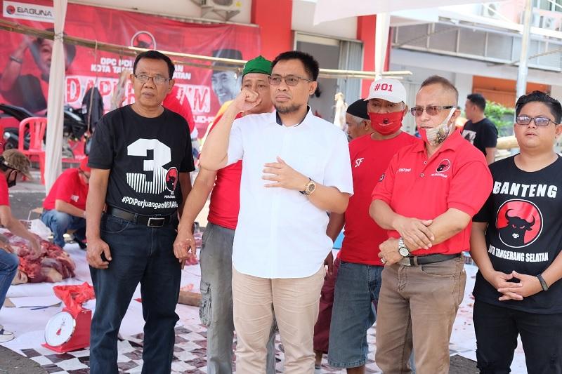 Idul Adha Tangsel, Gotong Royong Kader Legislatif & Struktur